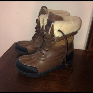 Ugg Butte II Worchester waterproof boots size 3